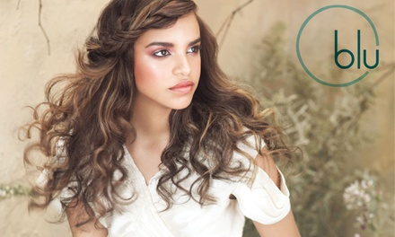 One, Three, or Five Blowouts and Styles at BLU Salon Aveda (Up to 64% Off)