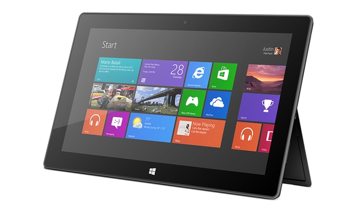 "Microsoft Surface RT 64GB 10.6"" Tablet: Microsoft Surface RT 64GB 10.6"" Tablet with Microsoft Office (Manufacturer Refurbished)"
