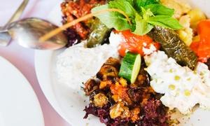 Bosphorus Turkish Restaurant: Turkish Meze with Wine for Two or Four at Bosphorus Turkish Restaurant (Up to 51% Off)