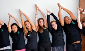 DharmaCycle Yoga: Up to 80% Off Monthly Unlimited Classes  at DharmaCycle Yoga