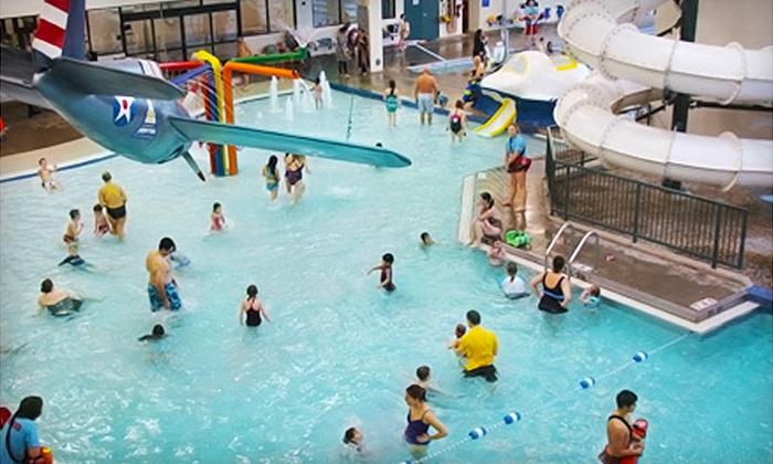Glenview Park District - Glenview: $18 for Six Visits to Glenview Park District's Splash Landings IndoorAquatic Center($36 Value)