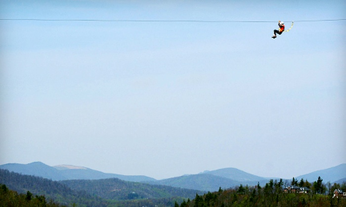 Sky Valley Zip Tours - Blowing Rock: $79 for a Zipline Excursion for Two at Sky Valley Zip Tours in Blowing Rock ($158 Value)