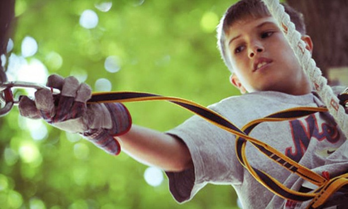 The Adventure Park at The Discovery Museum - North End: Visits to The Adventure Park at the Discovery Museum in Bridgeport (Up to 56% Off). Three Options Available.