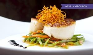 La Grange: Menu avec mise en bouche, entrée, plat, fromages et dessert pour 2 ou 4 personnes dès 45 € au restaurant La Grange