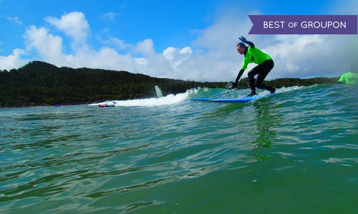 Live To Surf - Tofino: One-Day Surfboard and Gear Rental for One or Two at Live To Surf (Up to 61% Off)