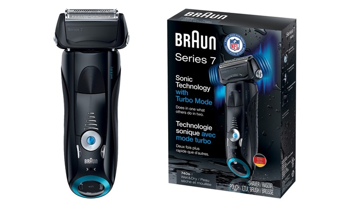 Braun Series 7-740S Wet and Dry Electric Foil Shaver | Groupon
