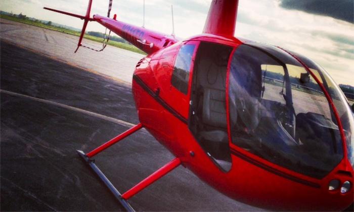 Timberview Helicopters - Northland: $155 for a Romantic Helicopter Tour at Timberview Helicopters ($337 Value)
