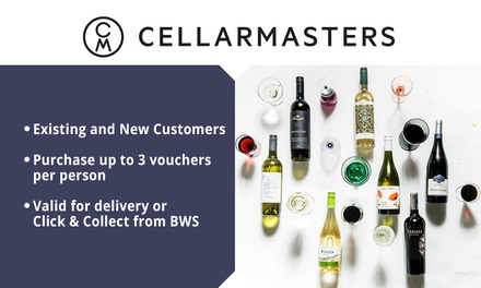 Cellarmasters: $10 to Spend Online Min. Spend $200 Existing & New Customers