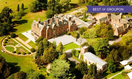 Warwickshire: 1 or 2 Nights for Two with Breakfast, Dinner and Spa Access at 4* Wroxall Abbey Hotel & Estate