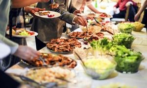 Sharazad Lounge Berlin: Authentisches arabisches Catering für 10 oder 20 Personen inkl. Anfahrt von Sharazad Lounge Berlin (60% sparen*)