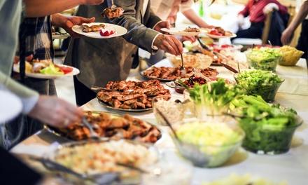 Cocina árabe para 2 o 4 con entrantes, principal, postre, botella de vino y té desde 24,95 € en El Paraíso del Desierto