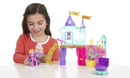 My Little Pony Crystal Princess Palace Play Set. Free Returns.