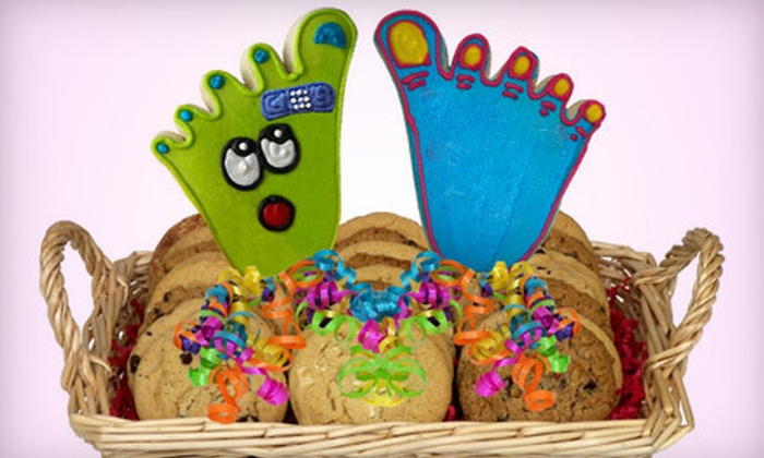 Cookies in Bloom - Glenview: $20 for a Gourmet Cookie Basket from Cookies in Bloom ($40.99 Value)