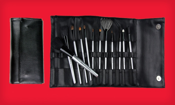 Beaute Basics 12-Piece Deluxe Brush Set: $22 for a Beaute Basics 12-Piece Professional Brush Set ($79.95 List Price). Free Shipping.