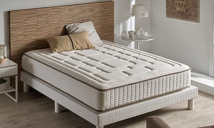 Visco luxe cashmere matras 27 cm hoog, afmetingen naar keuze vanaf € 119,98 (tot 91% korting)