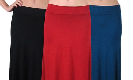 Women's Maxi Skirts (3-Pack)
