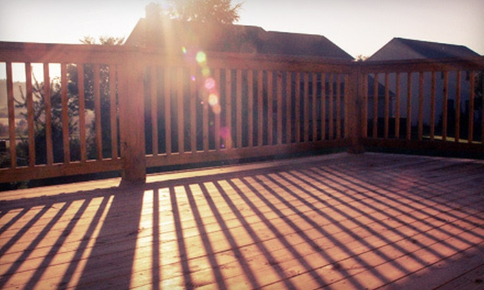 Deck Renew - Perry Hall: $239 for a Deck Power Wash with a Clear-Coat Seal from Deck Renew ($565 Value)