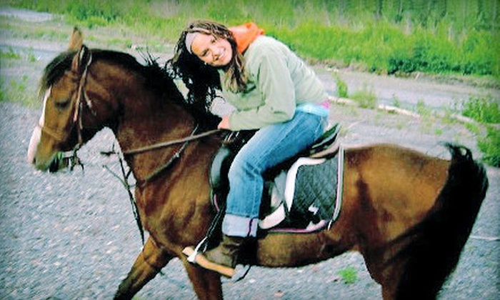 Avalon Destination EquiSpa - Eagle River Valley: $125 for One Week of Horseback-Riding Camp at Avalon Destination EquiSpa in Eagle River ($250 Value)