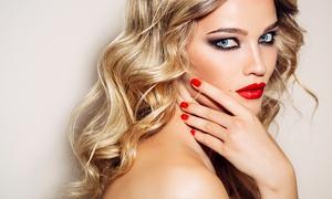 Vi Tanya Salon: Shellac Manicure at Vi Tanya Salon (47% Off)