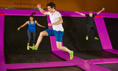 image for One-Hour Jump Pass for One, Two, or Four at Trampoline Xtreme (Up to 50% Off)