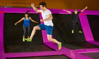 One-Hour Bounce Session with Grip Socks and Drink at Jump 2 It Deeside (Up to 37% Off)
