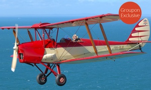 Antique Airways: From $125 for Aerial Flights in an Antique Open Cockpit Plane with Antique Airways, Redcliffe (up to $591.70 Value)