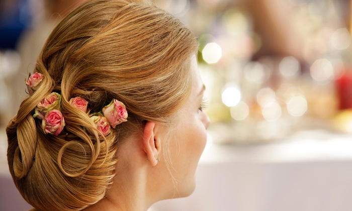 Strands Hair Salon - Flat Rock: Prom Updo-Styling Session from Strands of Hair (55% Off)