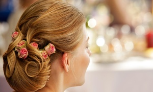 Strands Hair Salon: Prom Updo-Styling Session from Strands of Hair (55% Off)