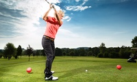 1x, 3x oder 5x Ganztages-Greenfee unlimited inkl. Driving Range bei Konzept Golf (bis zu 64% sparen*)