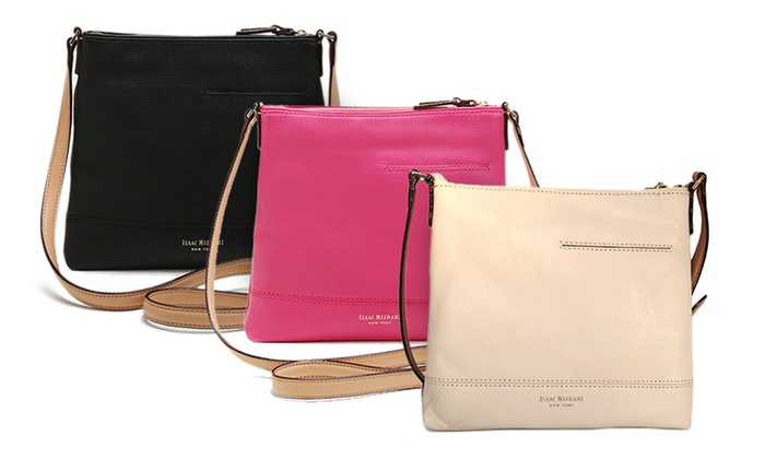 Isaac Mizrahi Kay Perf Cross Body Bag