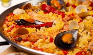 Restaurante New Passion: Menú para 2 o 4 personas con entrante, principal de arroz, postre y botella de vino o bebida desde 29,95€ en New Passion
