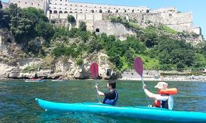 CANOA CLUB (BACOLI): Escursione in kayak con aperitivo per una o 2 persone da Canoa Club (sconto fino a 63%)