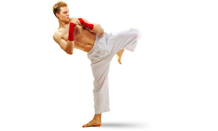 Master Gauss' Martial Arts Center - Westland: 5 or 10 Kickboxing Classes at Master Gauss' Martial Arts Center (Up to 67% Off)