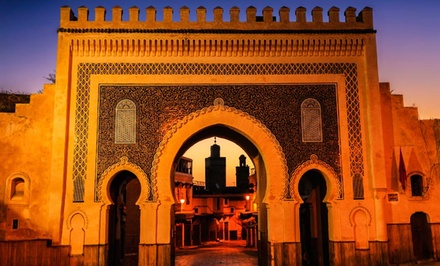 8-Day Tour of Morocco with Airfare from NYC, Guided Tours, and Some Meals. Price/person Based on Double Occupancy.