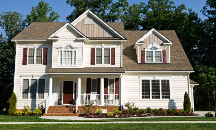 Agent Clean - Oak Forest: Pressure Washing on a One- or Two-Story Home or a Driveway from Agent Clean (Up to 56% Off)