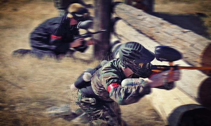 Prairie Storm Paintball - Prairie Storm Paintball: Fall Paintball Session for One, Two, or Four at Prairie Storm Paintball (Up to 54% Off)