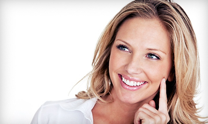 Express Teeth Whitening Center - Multiple Locations: 45-Minute Teeth-Whitening Treatment with Option for Whitening Pen at Express Teeth Whitening Center (Up to 74% Off)