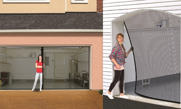 Garage mesh guard screen groupon