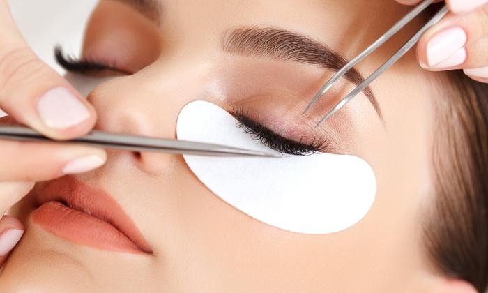 Mira's Eyelashes - Mira's Eyelashes: Full Set of Natural or Glamorous Vision Look Eyelashes at Mira's Eyelashes (Up to 51% Off)