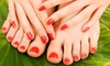 University Nails - Multiple Locations: One or Two Pedicures or Mani-Pedi at University Nails (Up to 51% Off)