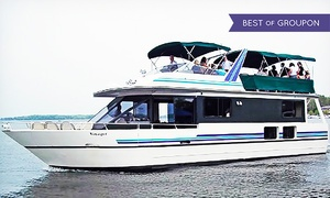 Wayzata Bay Charters: $35 for a 60-Minute Sweetheart Cruise on Lake Minnetonka for 2 from Wayzata Bay Charters ($66.90 Value)