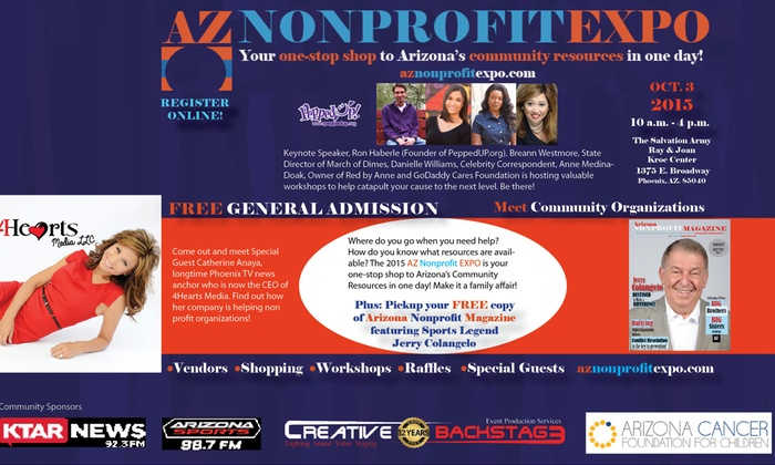 2015 Arizona Nonprofit EXPO - South Mountain: $62 for $125 Worth of Staff Pass at 2015 Arizona Nonprofit EXPO