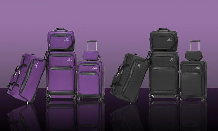 Ricardo Beverly Hills 5-Piece Luggage Set: $109.99 for Ricardo Beverly Hills 5-Piece Luggage Set ($260 List Price). Multiple Colors. Free Shipping and Returns.