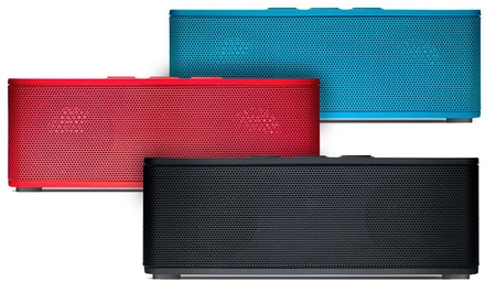 groupon daily deal - Urge Basics Sound Brick Bluetooth Speaker with Built-in Microphone. Multiple Colors Available.