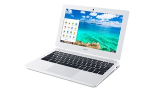 """Acer Chromebook 11 11.6"""" Laptop With Intel Celeron N2840 Cpu, 2gb Ram, And 16gb Ssd (manufacturer Refurbished)"""