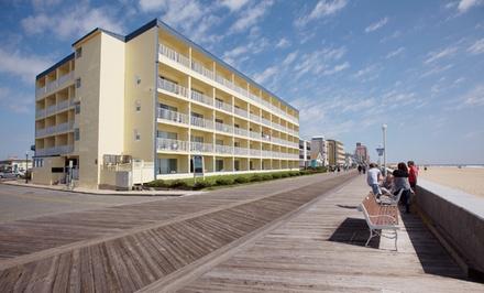 Stay at Howard Johnson Oceanfront Inn in Ocean City, MD. Dates into September.