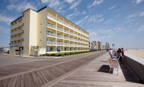 Stay at Howard Johnson Oceanfront Inn in Ocean City, MD. Dates into September. (Getaways Beach Vacations) photo