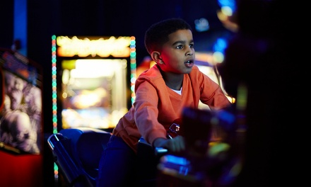 Arcade Package with Token, Pizza, Soda, and Dippin' Dots for Two or Four at King Putt (Up to 40% Off)