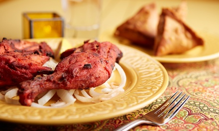 Indian Cuisine at Saffron Indian Cuisine (50%Off). Two Options Available.