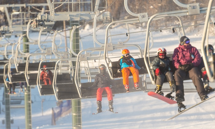 Villa Olivia - Bartlett: Day or Night Skiing and Snowboarding at Villa Olivia (Up to 49% Off). Five Options Available.